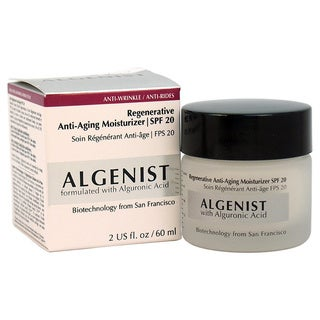 Regenerative Anti-Aging Moisturizer SPF 20 by Algenist for Women - 2-ounce Moisturizer
