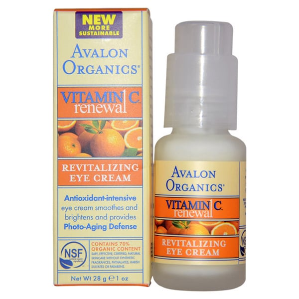 Avalon Organics Vitamin C Revitalizing Eye Cream