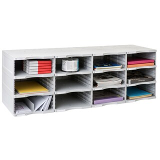 Archivo 2000 ArchivoDoc Quadro Jumbo 12-compartment Literature and Forms Sorting Station