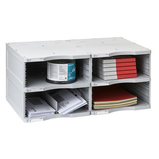 Archivo 2000 ArchivoDoc Duo Jumbo Literature and Forms Sorting Station with Four Compartments