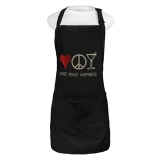 Love Peace & Happiness Apron