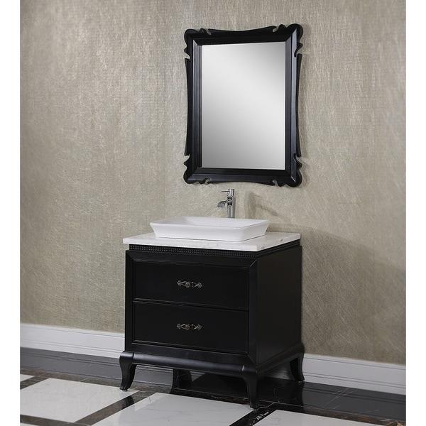 Comcarrera Marble Bathroom Vanity : inch-Carrara-White-Marble-Top-with-Drop-in-Basin-Single-Sink-Bathroom ...
