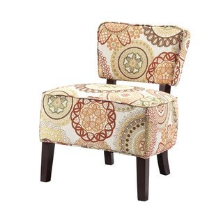 Madison Park Drake Open Back Armless Chair