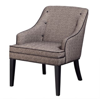 Madison Park Berkley Sweep Button Tufted Arm Chair