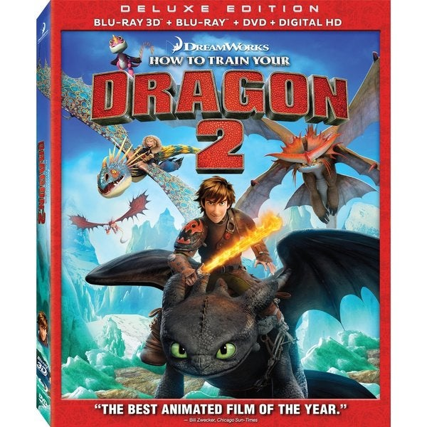 How To Train Your Dragon 2 3D (Blu-ray/DVD) 13910905