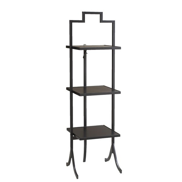 3-shelf Black Table