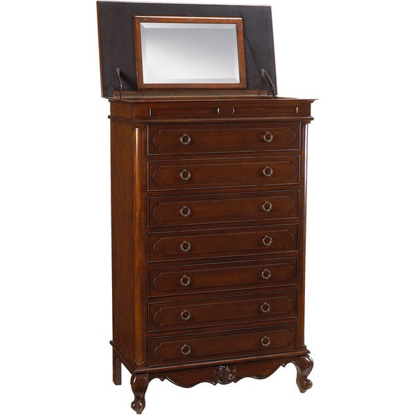 Lilles Semainier Chest with Lift-up Mirror