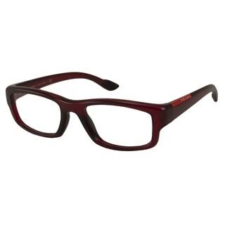 Prada Sport Readers Men's PS02EV Rectangular Reading Glasses
