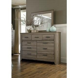 Signature Design by Ashley 'Zelen' Dresser and Mirror Set