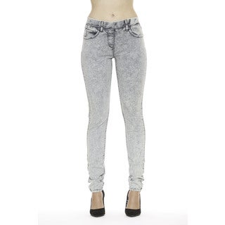 365 Denim Women's Acid-wash Skinny Jeggings