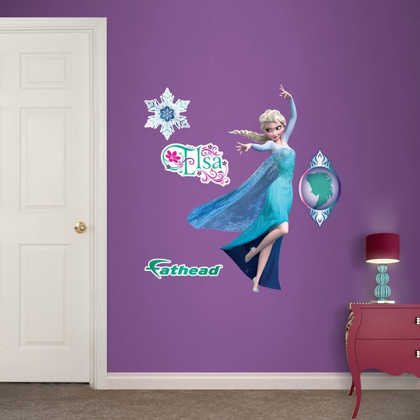 Fathead Jr. Disney Frozen - Elsa Wall Decals