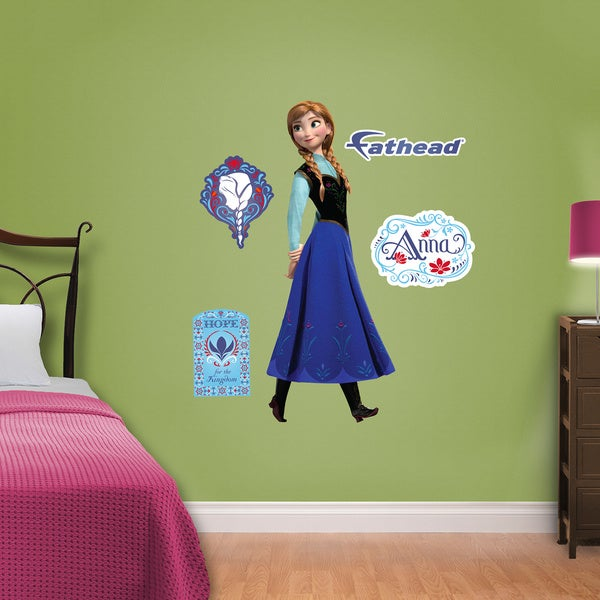 Fathead Jr. Disney Frozen - Anna Wall Decals