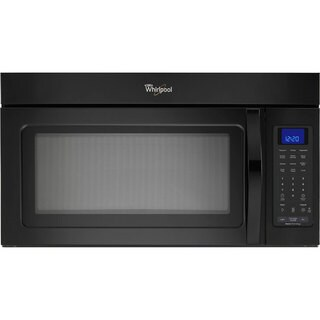Whirlpool WMH32517AB 1.7-cubic-foot Over-the-Range Black Microwave