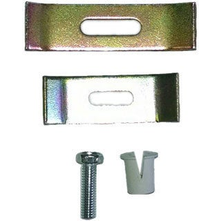 Highpont Collection Undermount Sink Clips Package of 12