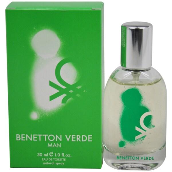 United Colors of Benetton Verde Men's 1-ounce Eau de Toilette Spray
