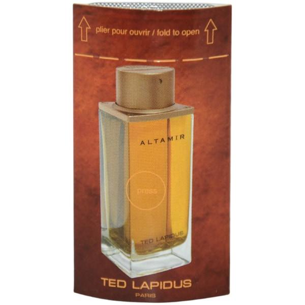 Ted Lapidus Altamir Men's 0.3 ml Eau de Toilette Splash Vial (Mini)