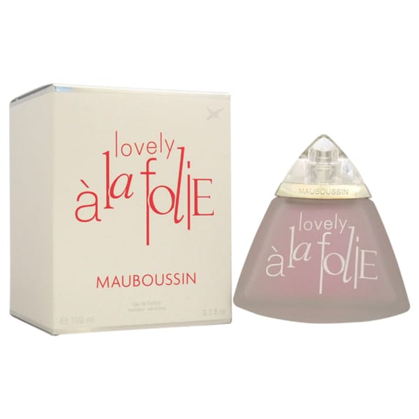 Mauboussin Lovely A La Folie Women's 3.3-ounce Eau de Parfum Spray