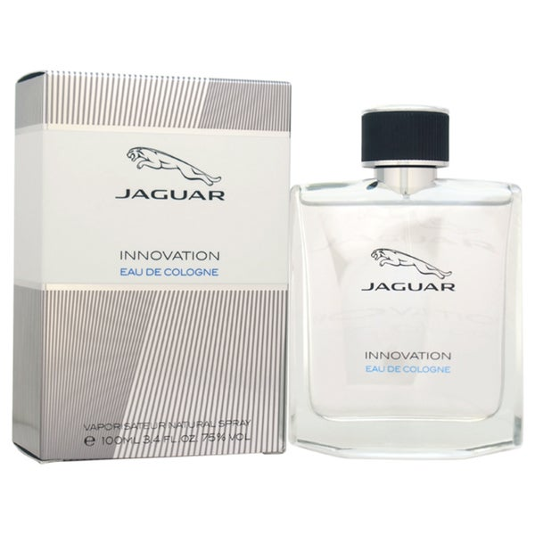 Jaguar Innovation Men's 3.4-ounce Eau de Cologne Spray