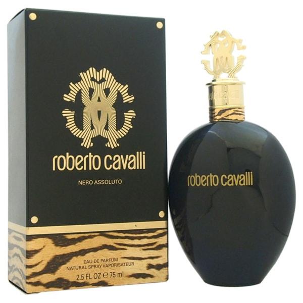 Roberto Cavalli Nero Assoluto Women's 2.5-ounce Eau de Parfum Spray