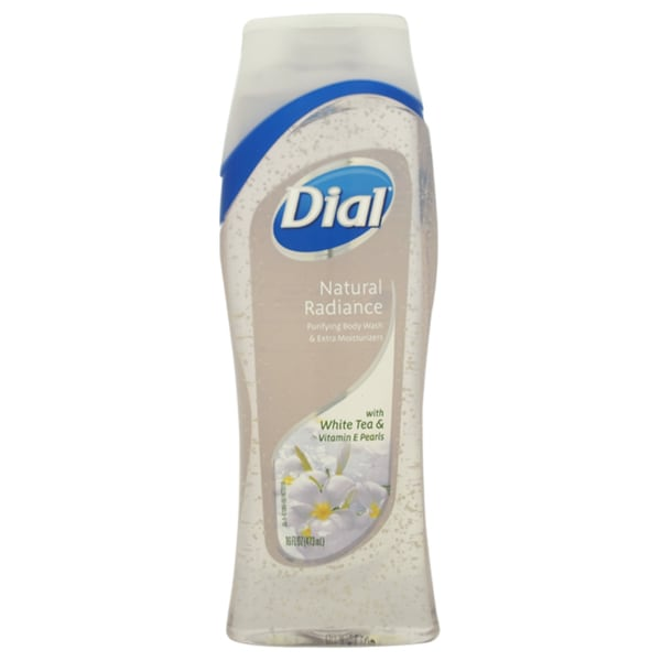 Dial Natural Radiance White Tea and Vitamin E Pearls Purifying 16-ounce Body Wash