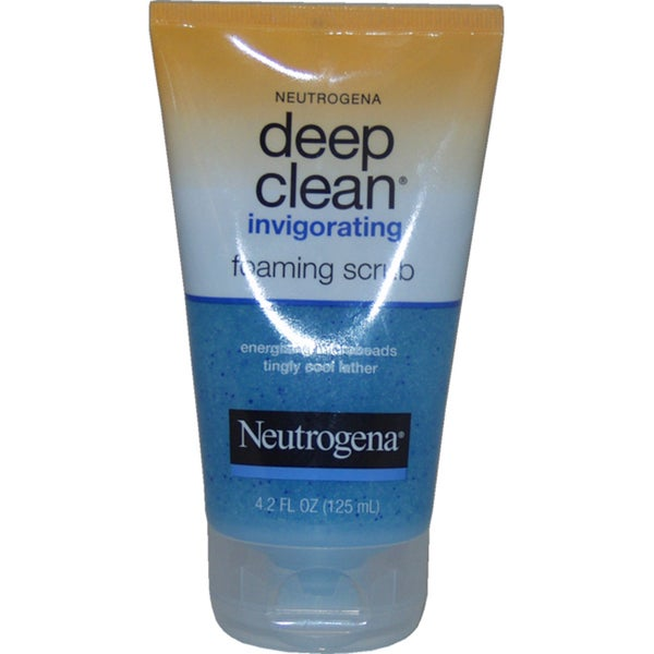 Neutrogena Deep Clean Invigorating 4.2-ounce Foaming Scrub