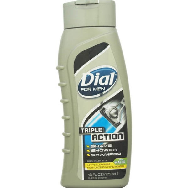Dial Triple Action Men's 16-ounce Body Wash