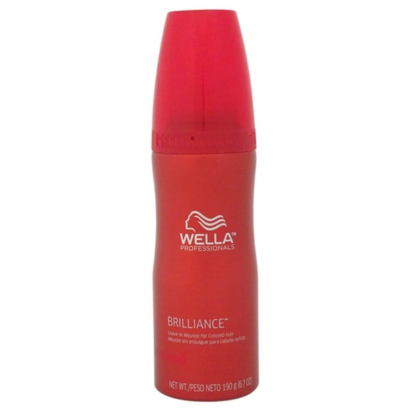 Wella Brillince 6.7-ounce Leave In Mousse For Colored Hair