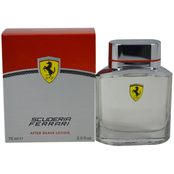 Ferrari Scuderia Men's 2.5-ounce After Shave Lotion