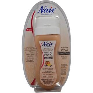 Nair Brazilian Spa Clay Roll-on 5.7-ounce Wax