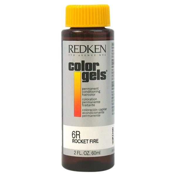 Redken Color Gels Permanent Conditioning 6R Rocket Fire Hair Color
