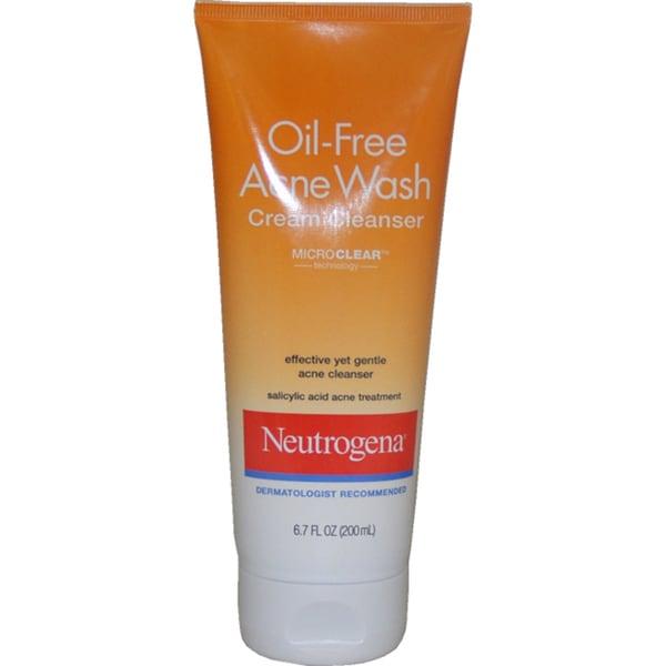 Neutrogena Oil-free Acne Wash 6.7-ounce Cream Cleanser