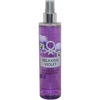United Colors of Benetton Relaxing Violet Women's 8.4-ounce Body Mist