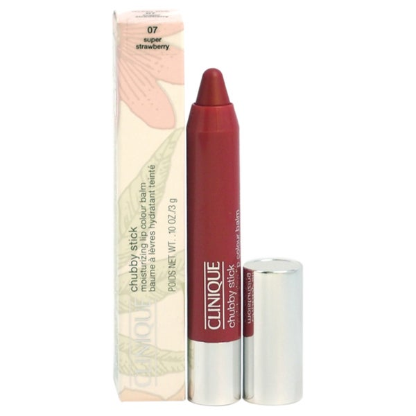 Clinique Chub Stick Moisturizing Balm 07 Super Strawberry Lipstick