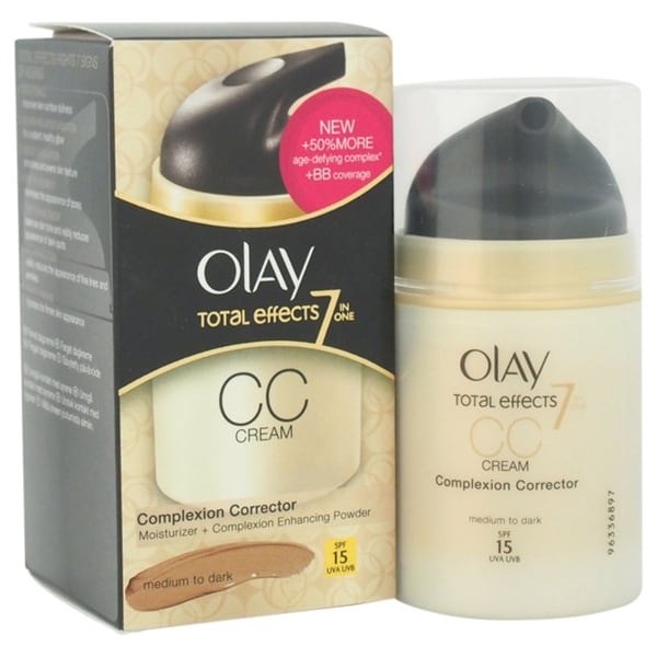 Olay Medium to Dark Total Effects CC Cream