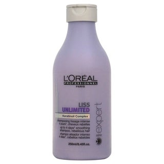 L'Oreal Professional Liss Unlimited Keratinoil Complex 8.45-ounce Shampoo