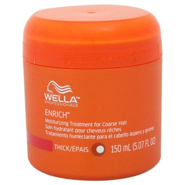 Wella Enrich Moisturizing for Coarse Hair 5.07-ounce Treatment