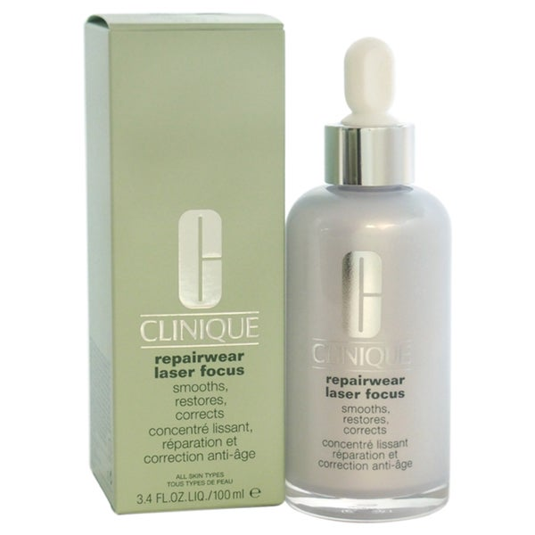 Clinique Repairwear Laser Focus Smooths-Restores-Corrects 3.4-ounce Serum