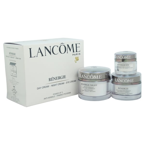 Lancome Renergie Power of 3 Anti-Wrinkle-Firming Program 3-piece Set