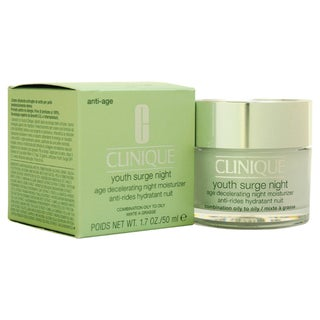 Clinique Youth Surge Night Age Decelerating Night SPF15 Combination Oily 1.7-ounce Moisturizer
