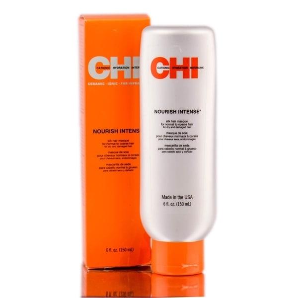 CHI Nourish Intense Silk Masque for Coarse Hair 6-ounce Masque