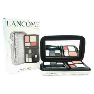 Lancome Travel Chic Evening Makeup Pouch Plantine Edition 15-piece Eyeshadow Palette