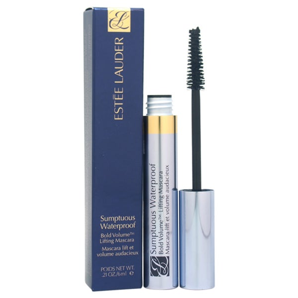 Estee Lauder Sumptuous Waterproof Bold Volume Lifting 01 Black Mascara