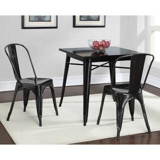 Tabouret Black Metal Dining Table
