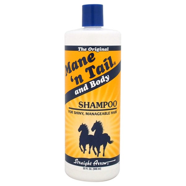 Straight Arrow The Original Mane N Tail and Body 32-ounce Shampoo