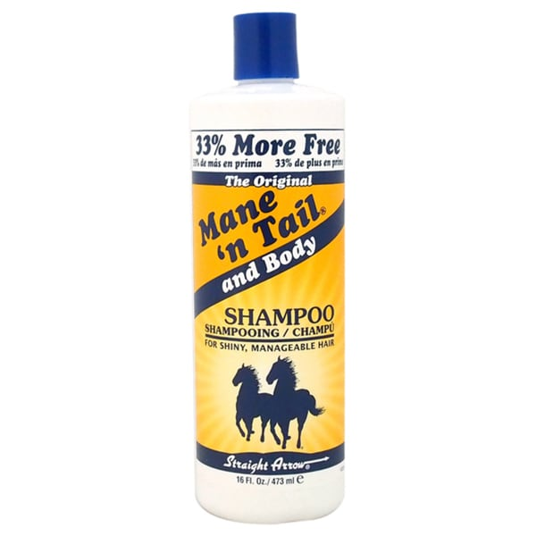 Straight Arrow The Original Mane N Tail and Body 16-ounce Shampoo
