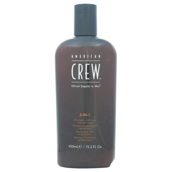 American Crew 3-in-1 15.2-ounce Shampoo & Conditoner