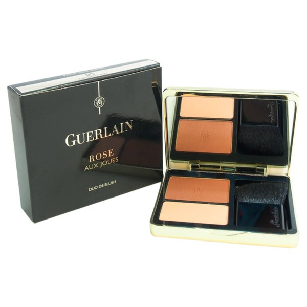 Guerlain Rose Aux Joues Blush Duo 05 Golden High Blush