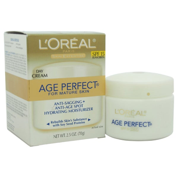 L'Oreal Professional Age Perfect Anti-Sagging & Ultra Hydrating Day SPF 15 2.5-ounce Cream