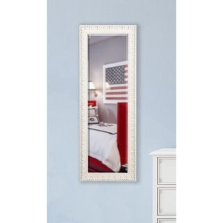 American Made Rayne French Victorian White 21 x 60 Slender Body Mirror