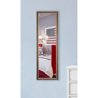 American Made Rayne Cameo Bronze 19 x 58 Slender Body Mirror